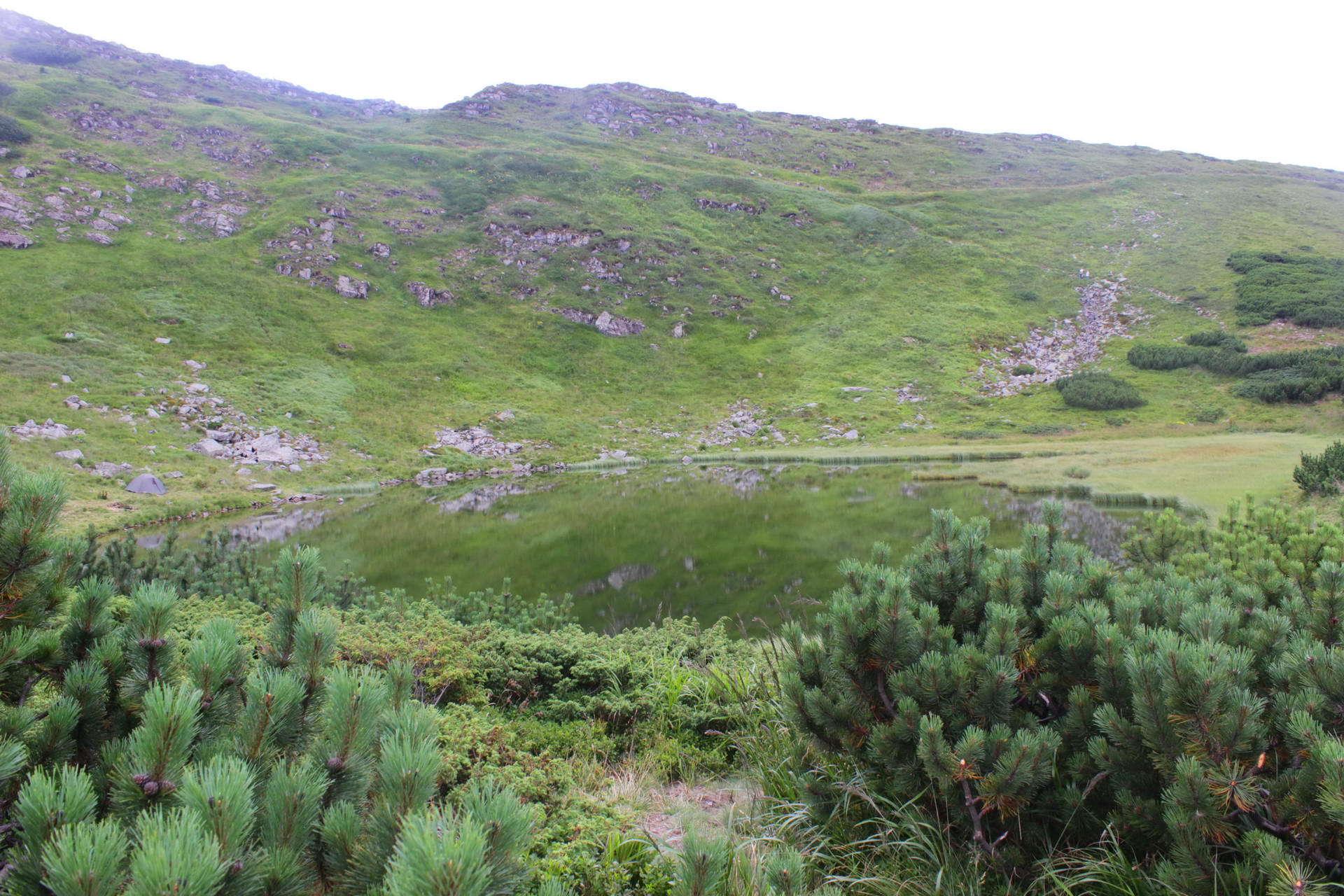 Маршрут Чорногорою, озеро Несамовите