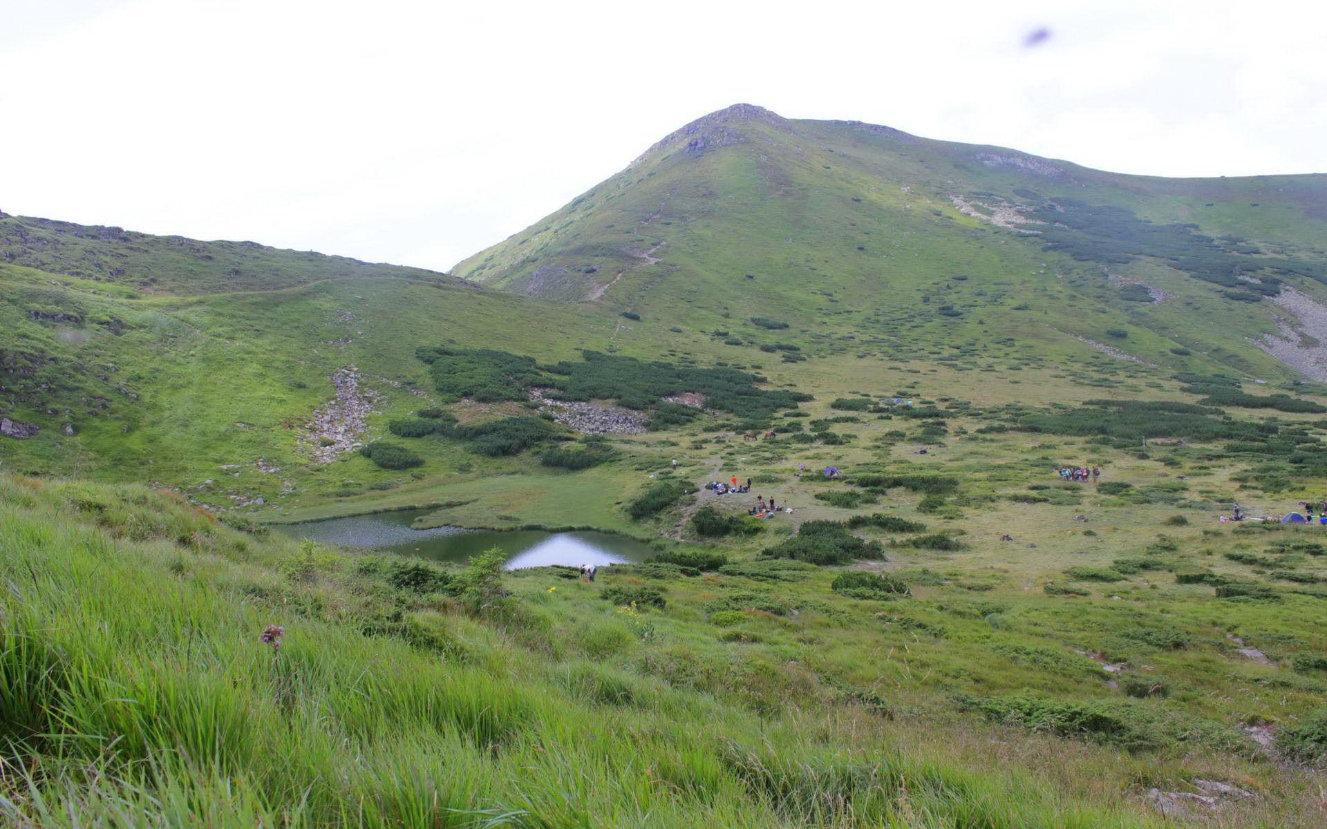 Маршрут Чорногірським хребтом, озеро Несамовите