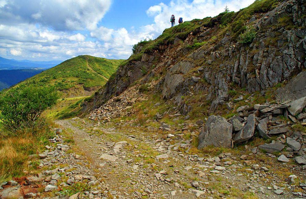 Карпати, маршрут Мармароським масивом