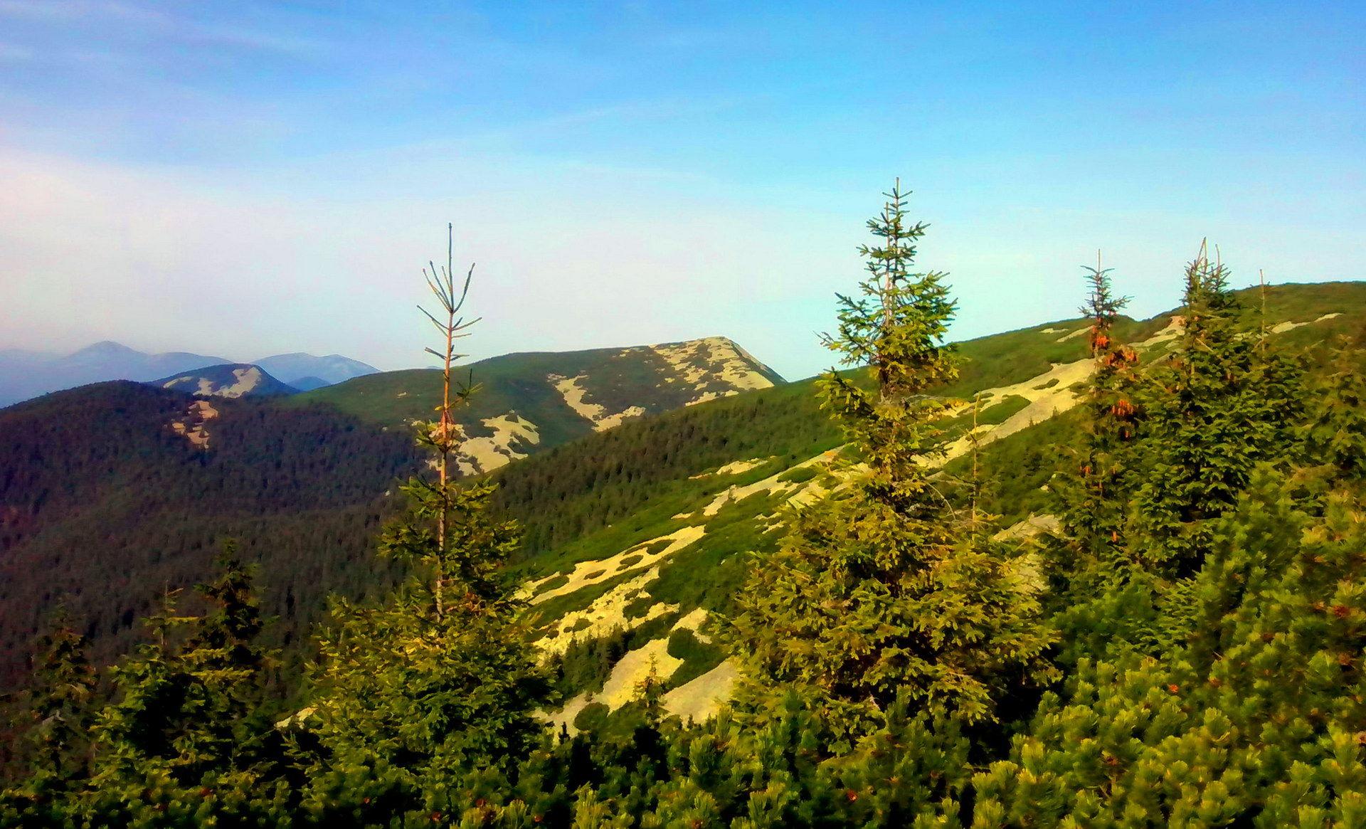 Карпати, маршрут Довбушанським хребтом