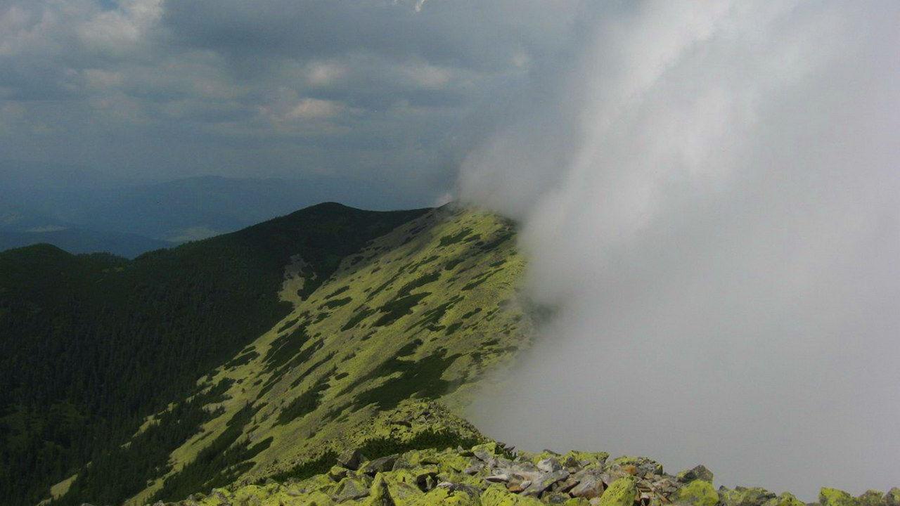 Маршрут на гору Довбушанка, масив Горгани