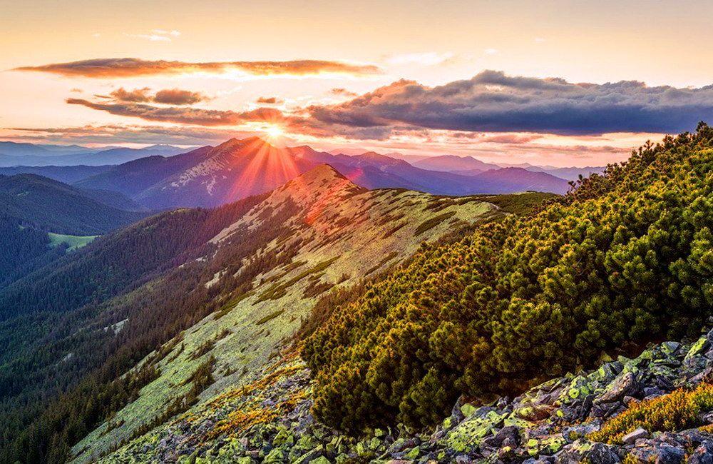 Довбушанський хребет, туристичний маршрут