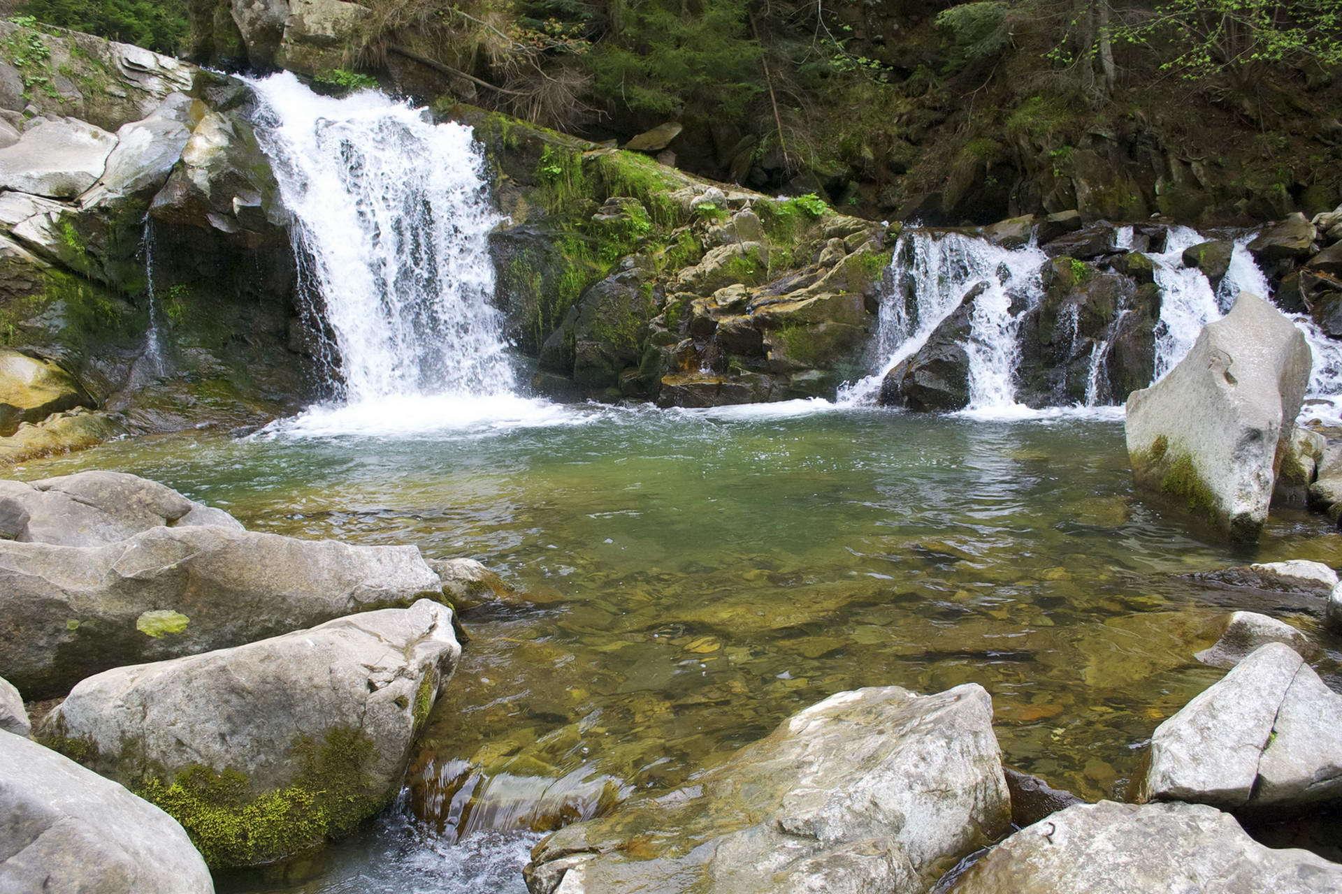 Кам'янецький водоспад, маршрут на гору Ключ
