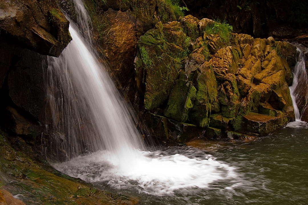 Маршрут на гору Ключ, водоспад на річці Кам'янка