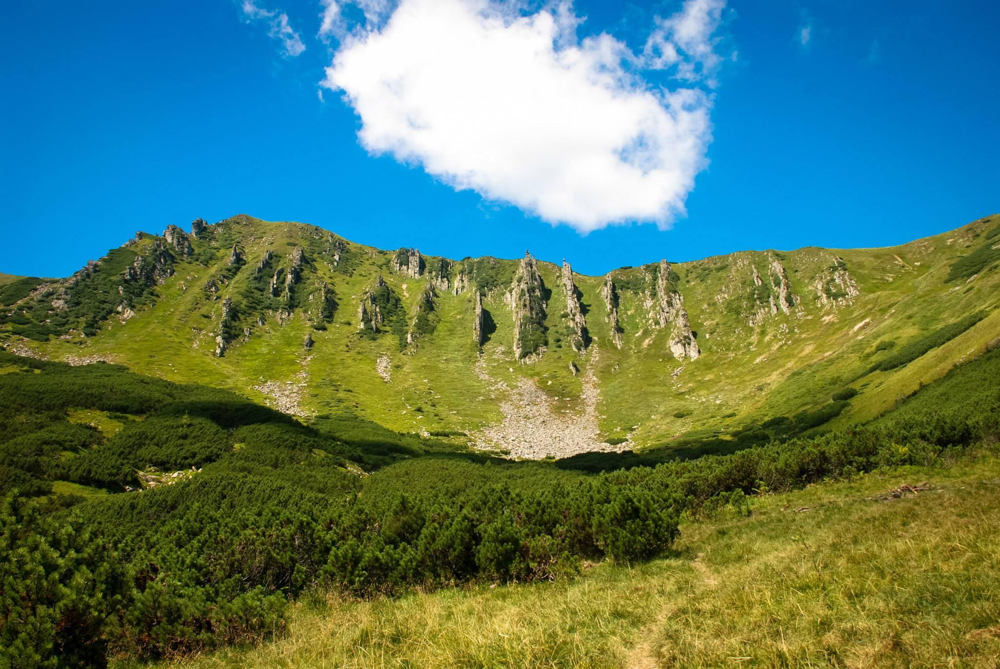 Масив Чорногора, гора Шпиці