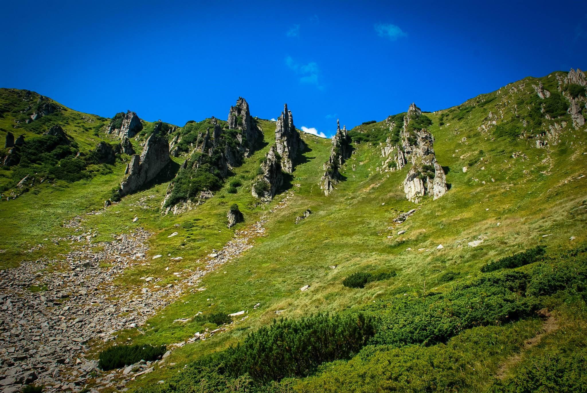 Гора Шпицы, массив Черногора