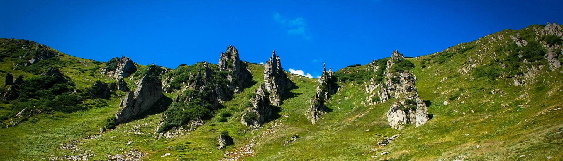Черногорский хребет, маршрут на гору Шпицы