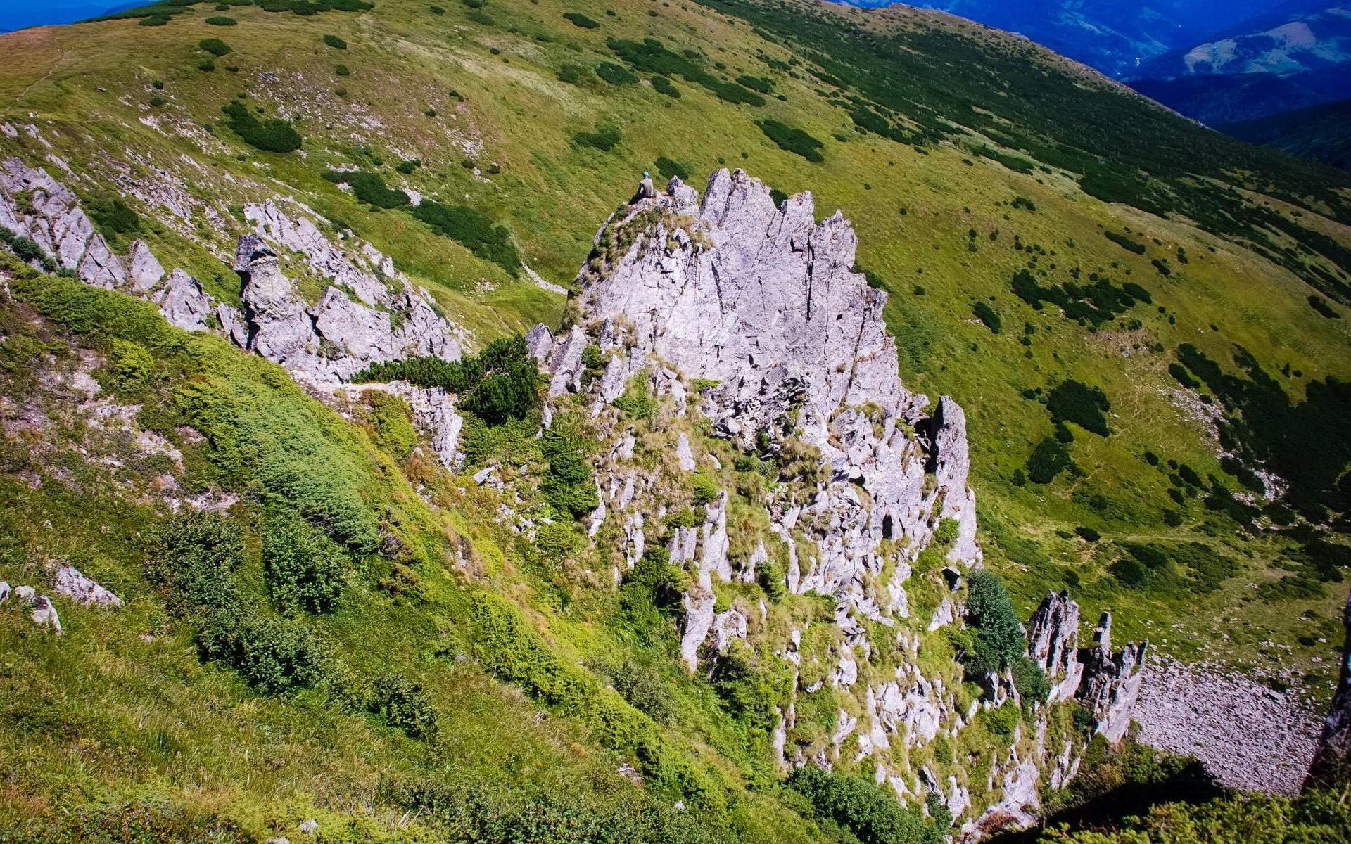 Гора Шпиці, Українські Карпати