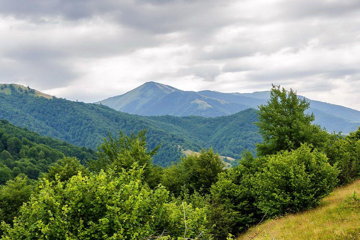 Масив Горгани, маршрут на гору Стримба