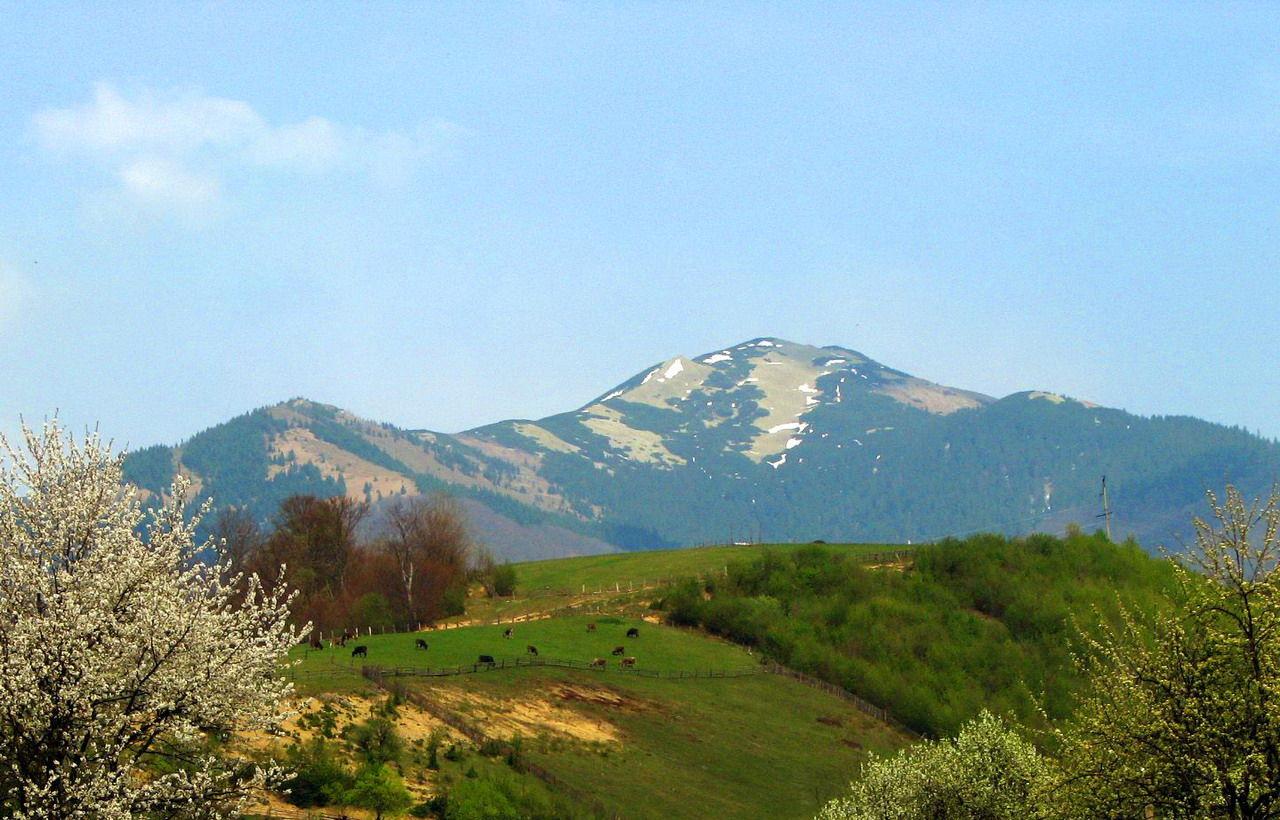 Маршрут на гору Стримба, Карпати, масив Горгани