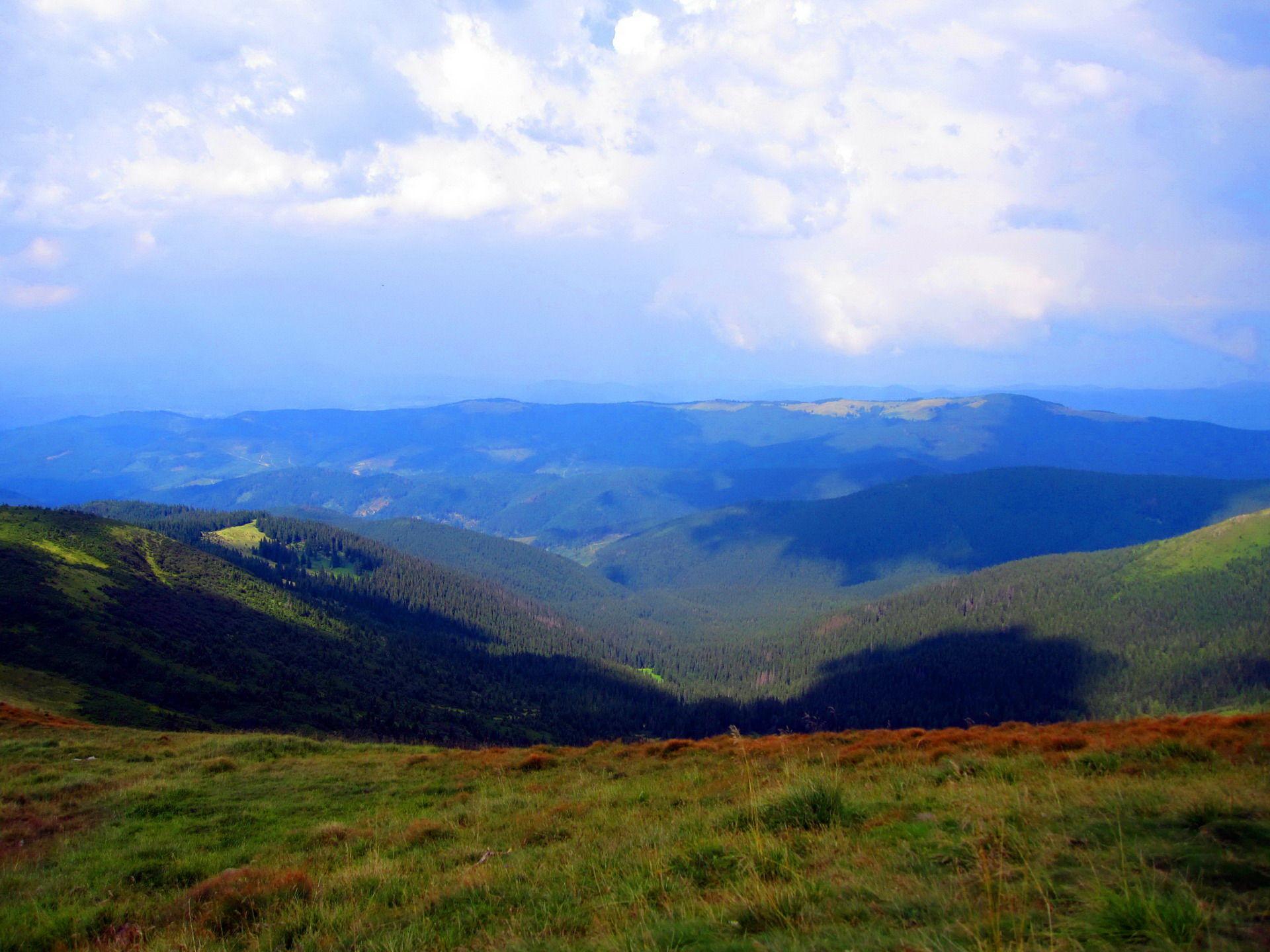Підйом на Говерлу, Чорногірський хребет
