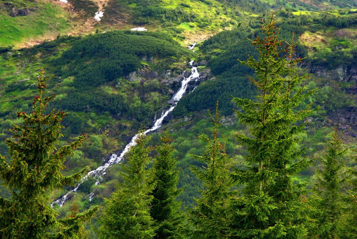 Маршрут на Говерлу, Прутські водоспади