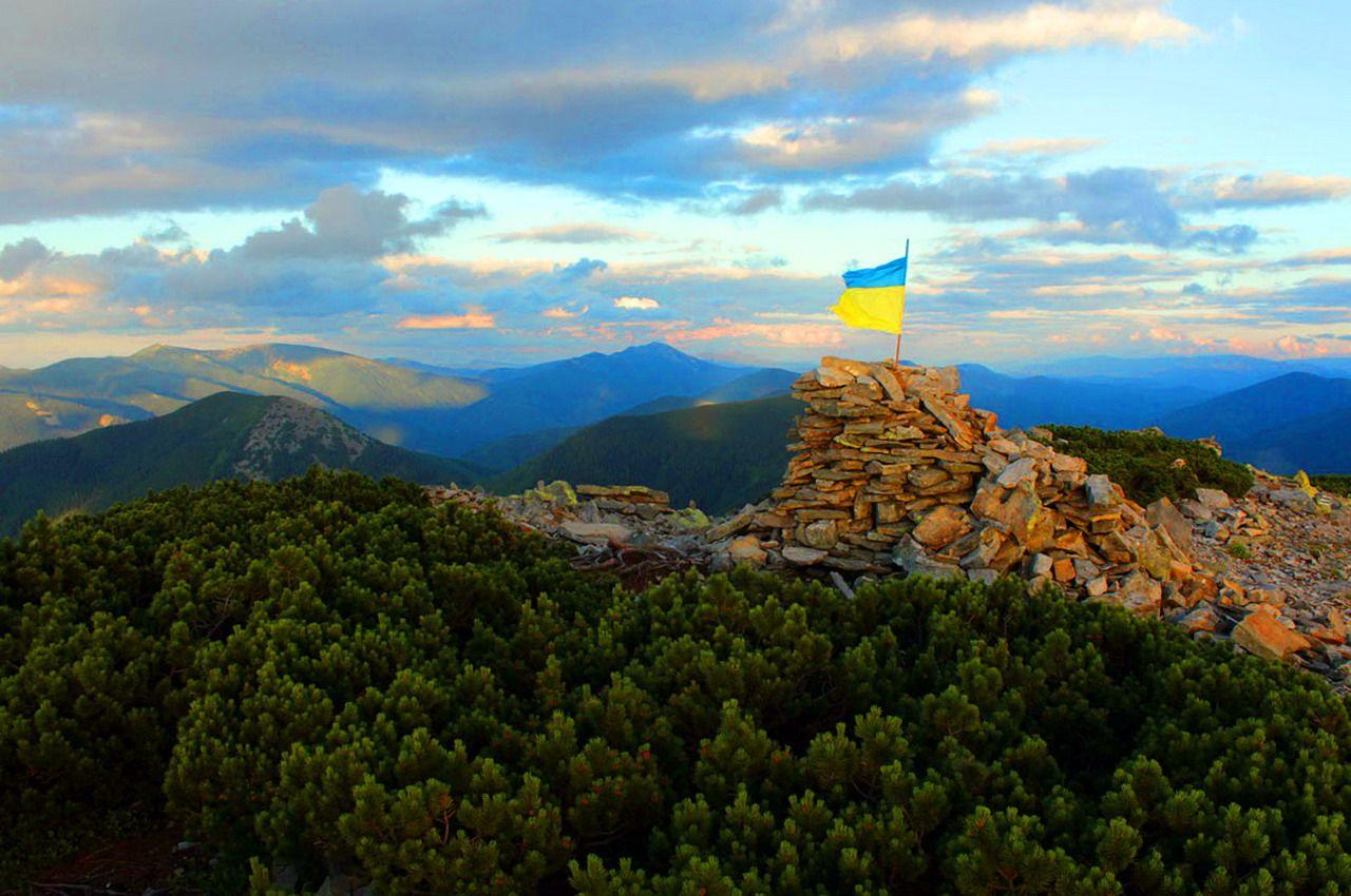 Українські Карпати, маршрут на Грофу і Пареньки