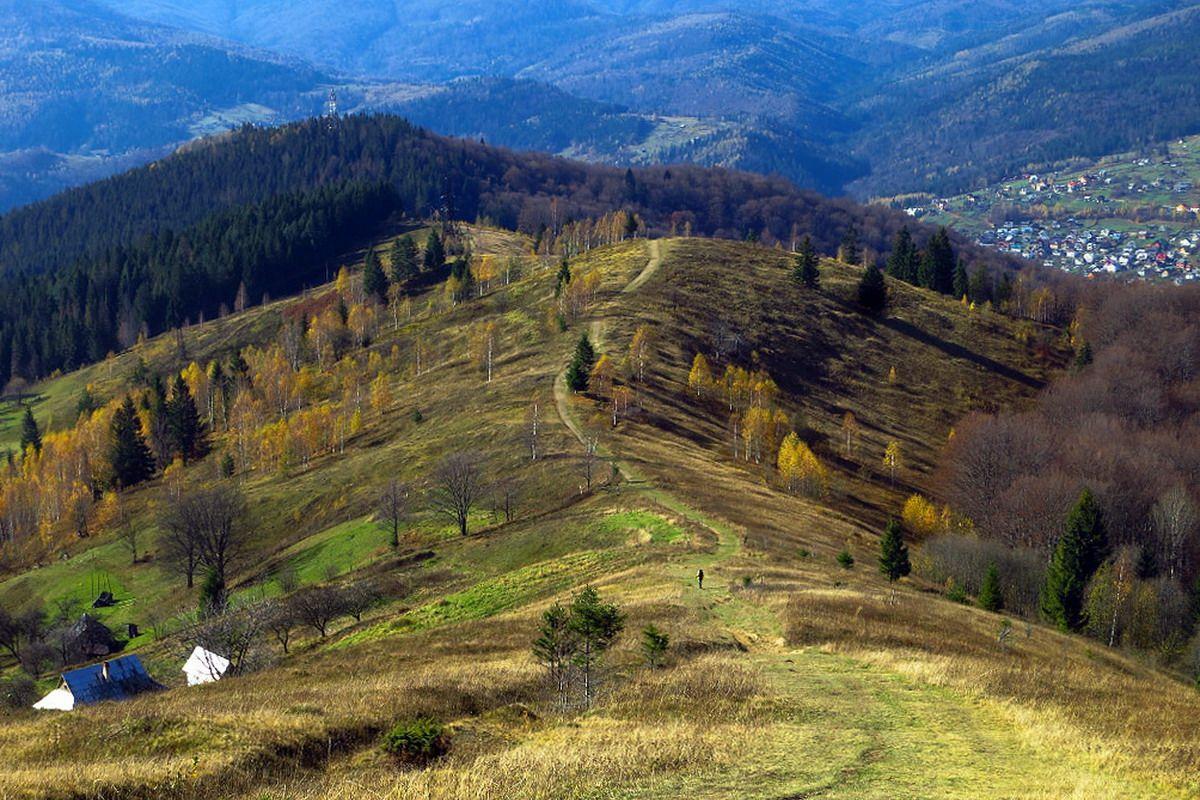 Маршрут на гору Маківка
