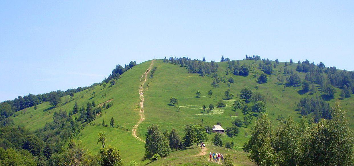 Туристичний маршрут на гору Маківка