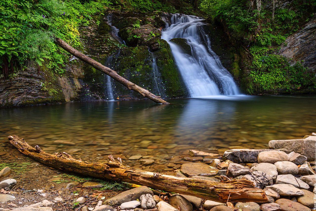 Маршрут на г. Парашка, водоспад Гуркало