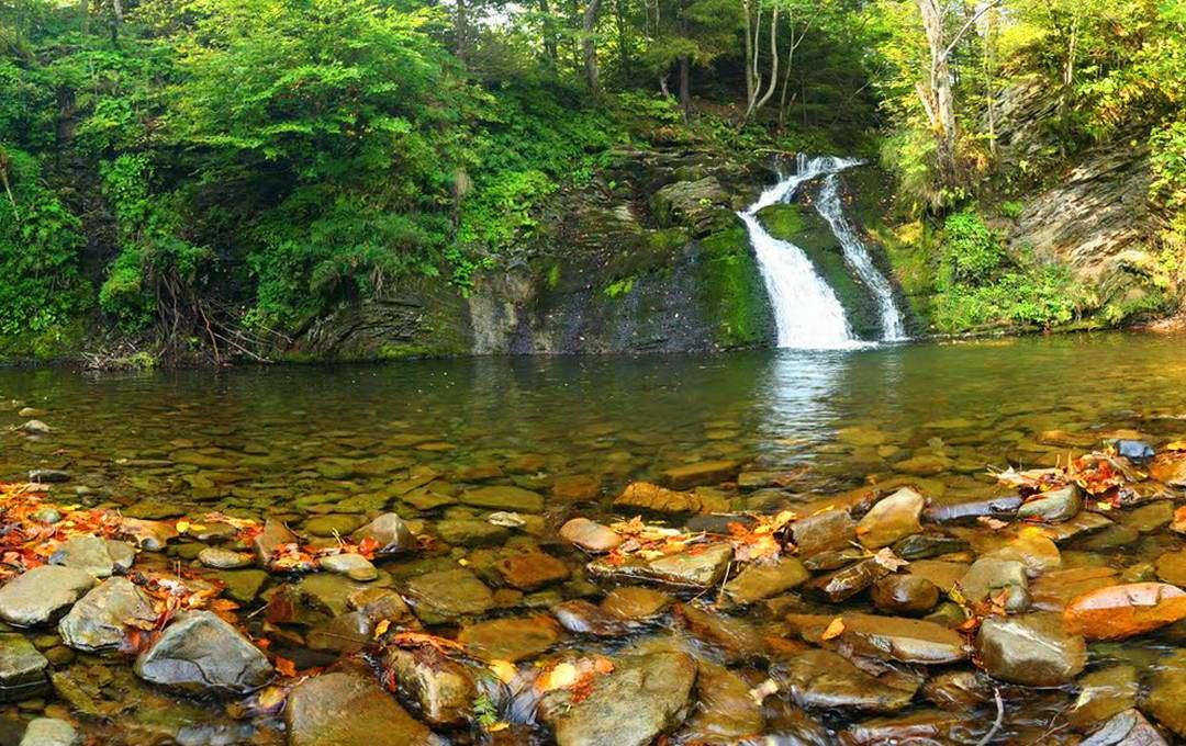Водоспад Гуркало, Сколівські Бескиди