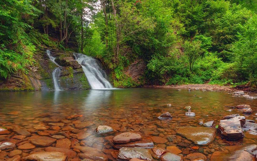 Сколівські Бескиди, водоспад Гуркало