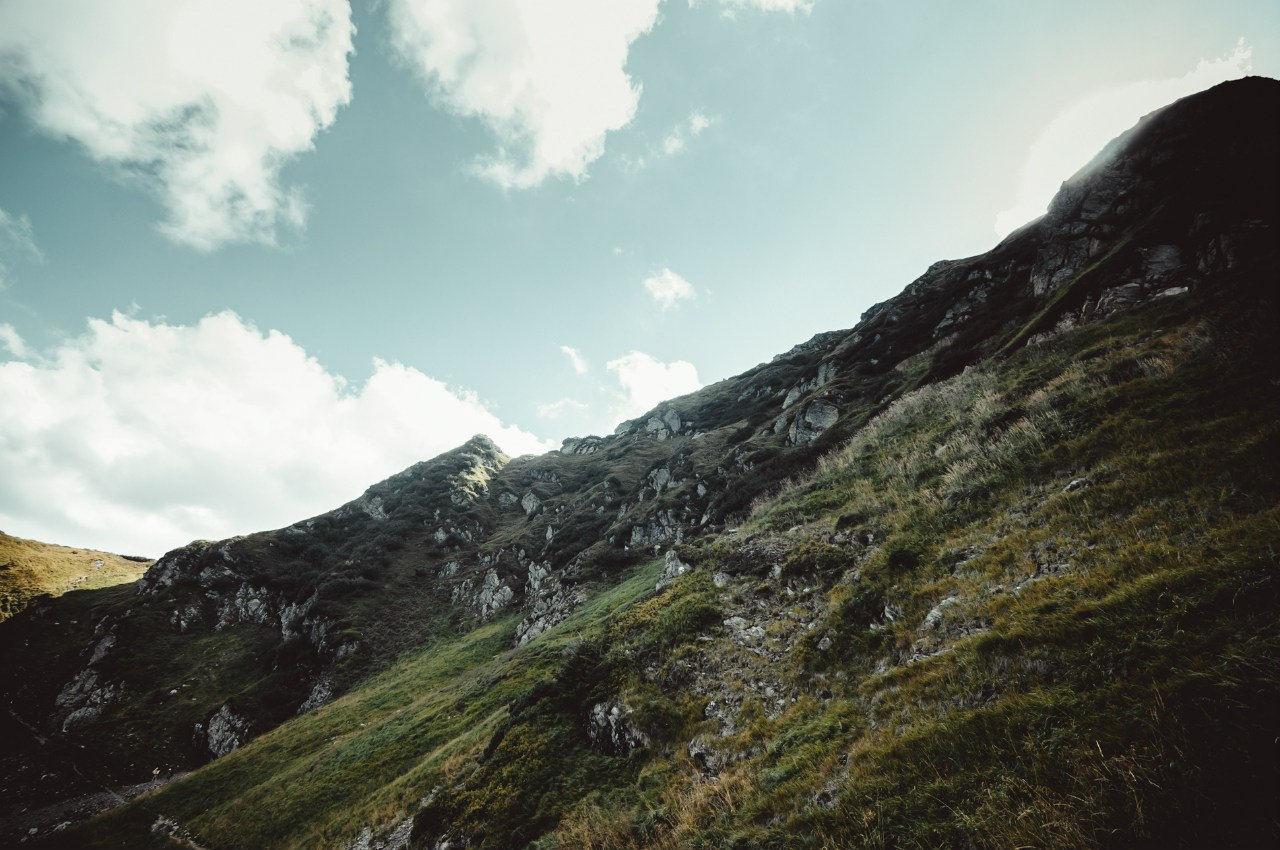 На схилах вершини Піп Іван Мармароський