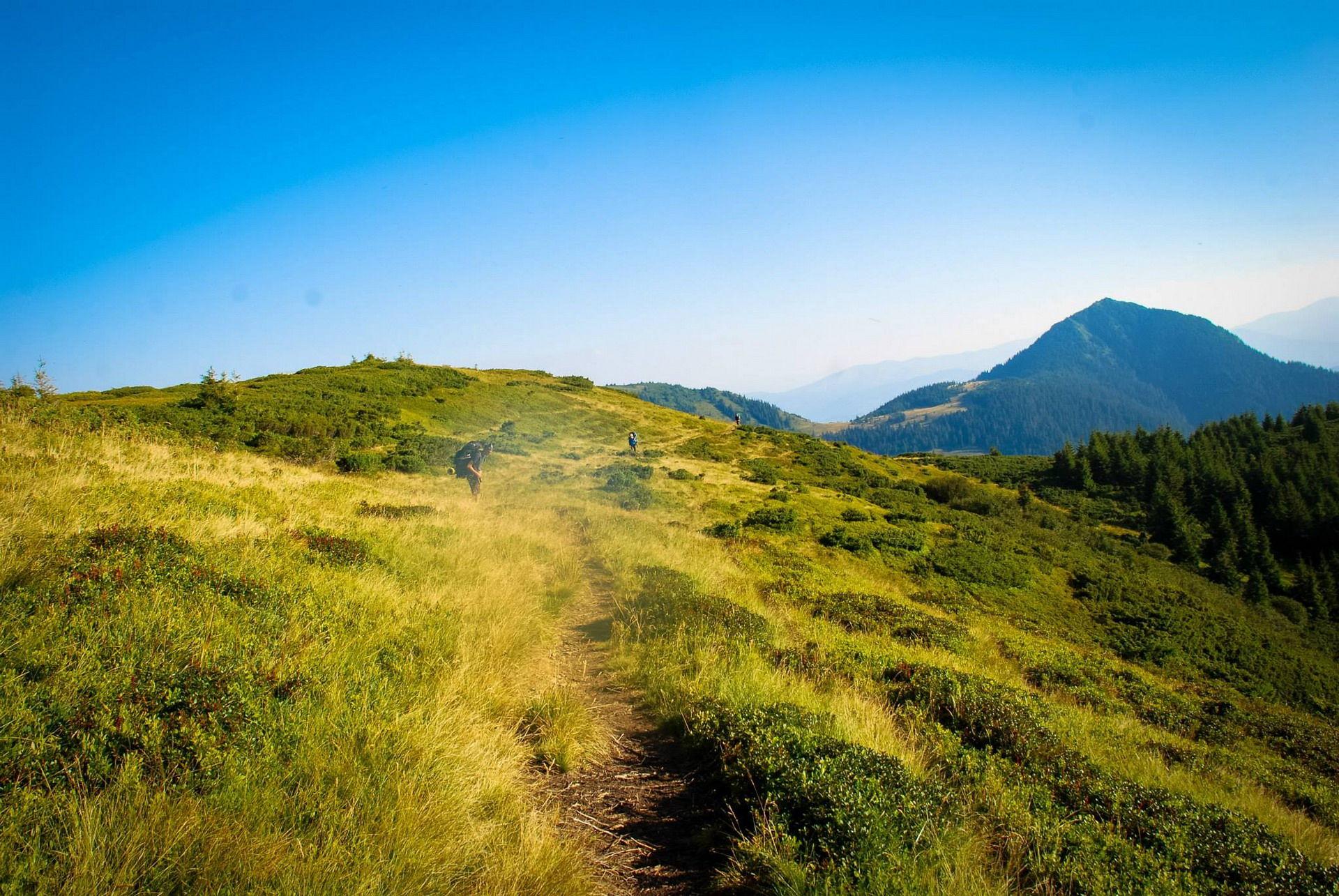 Маршрут на гору Піп Іван Мармароський