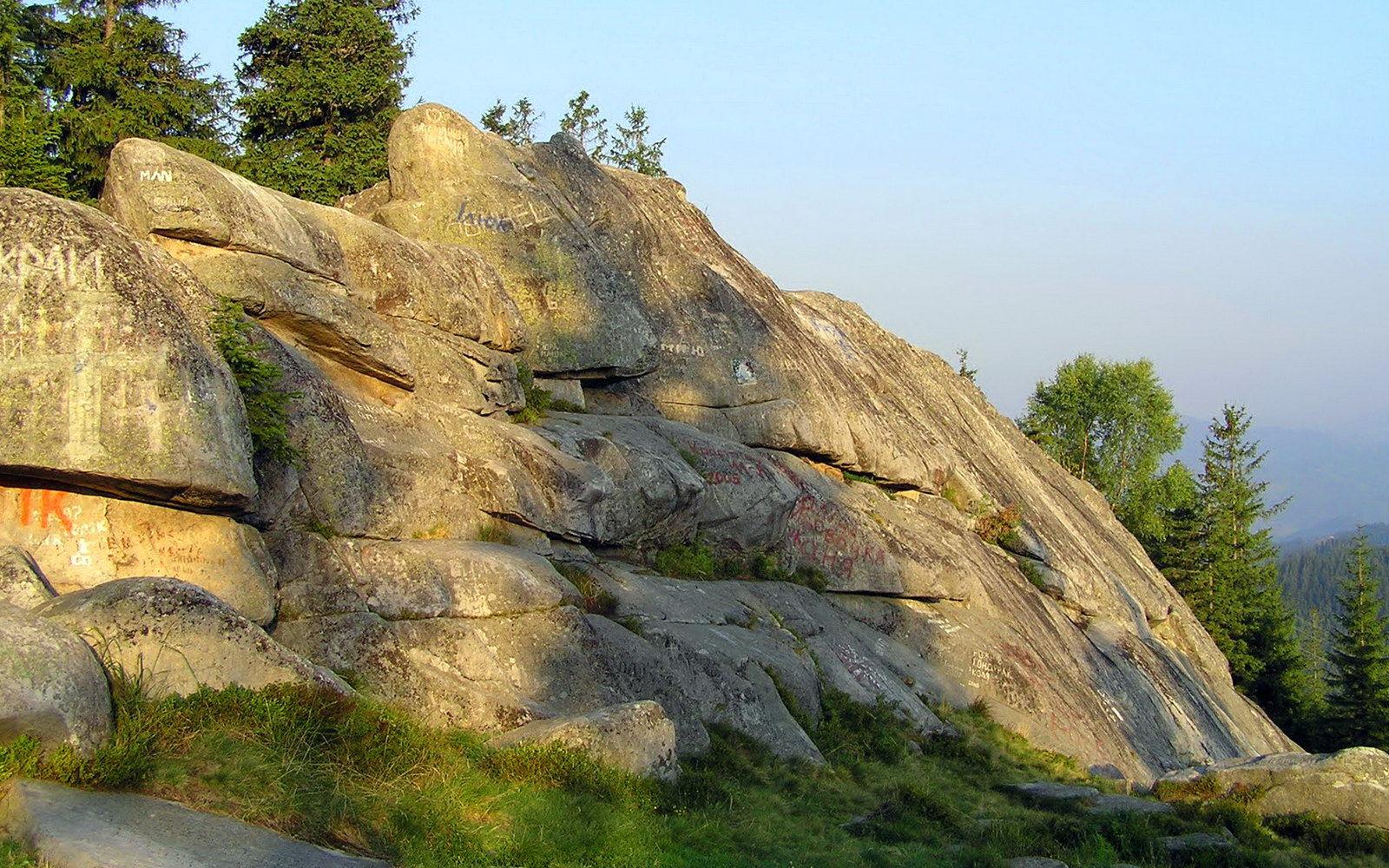 Маршрут на Писаний Камінь, Покутсько-Буковинські Карпати