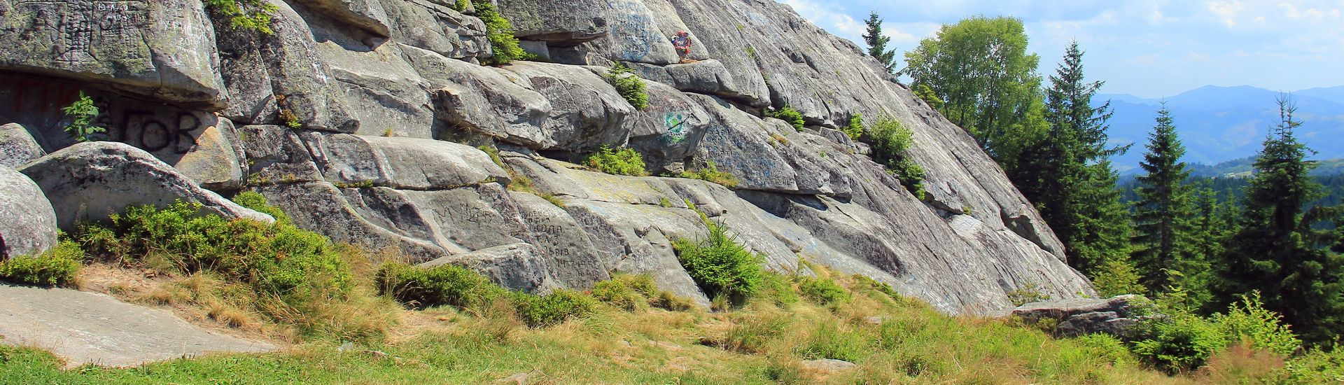 Гора Писаний Камінь, туристичний маршрут