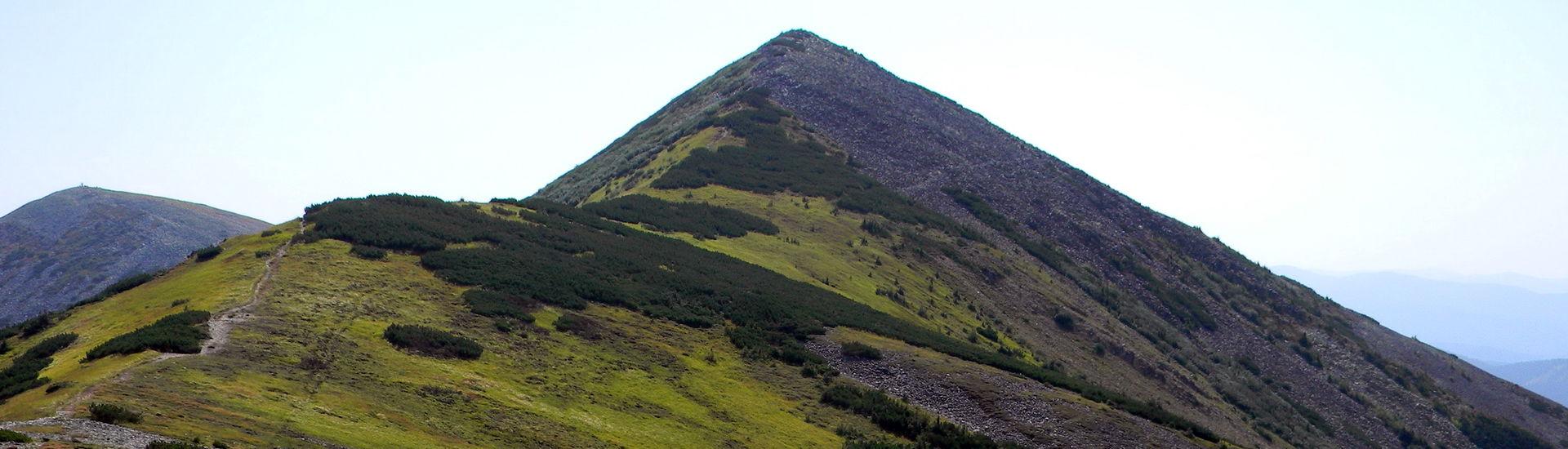 Гора Велика Сивуля, маршрут Сивулянським хребтом
