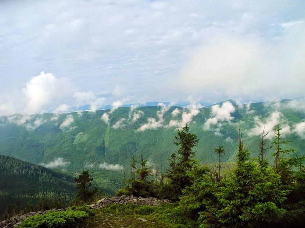 Сивулянський хребет, Українські Карпати