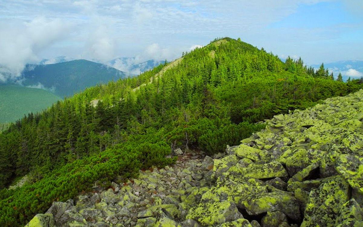 Сивулянський хребет, Карпати