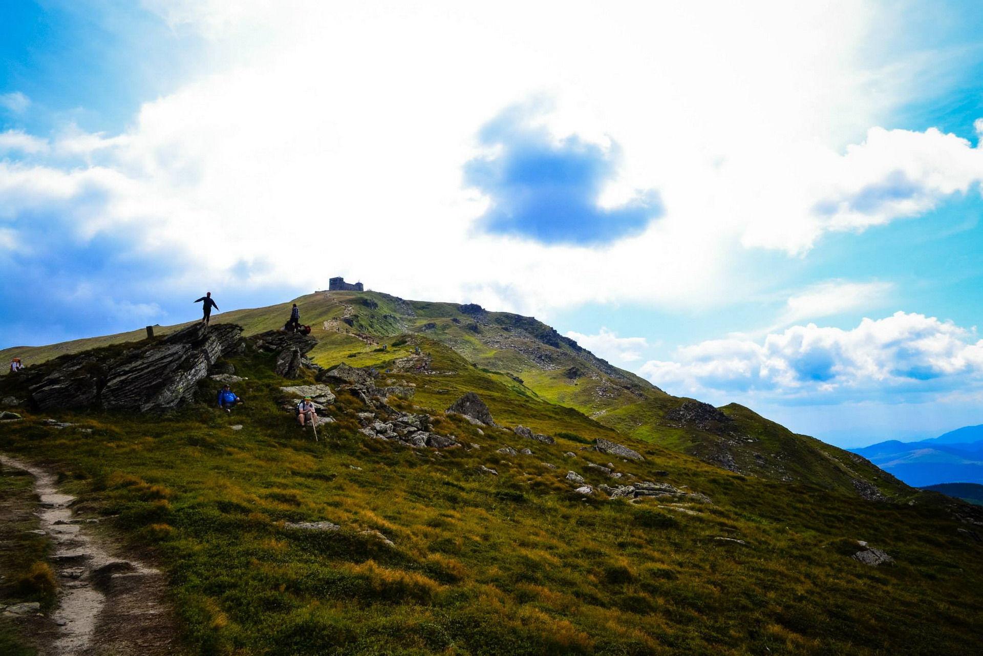 Восхождение на вершину Поп-Иван Черногорский