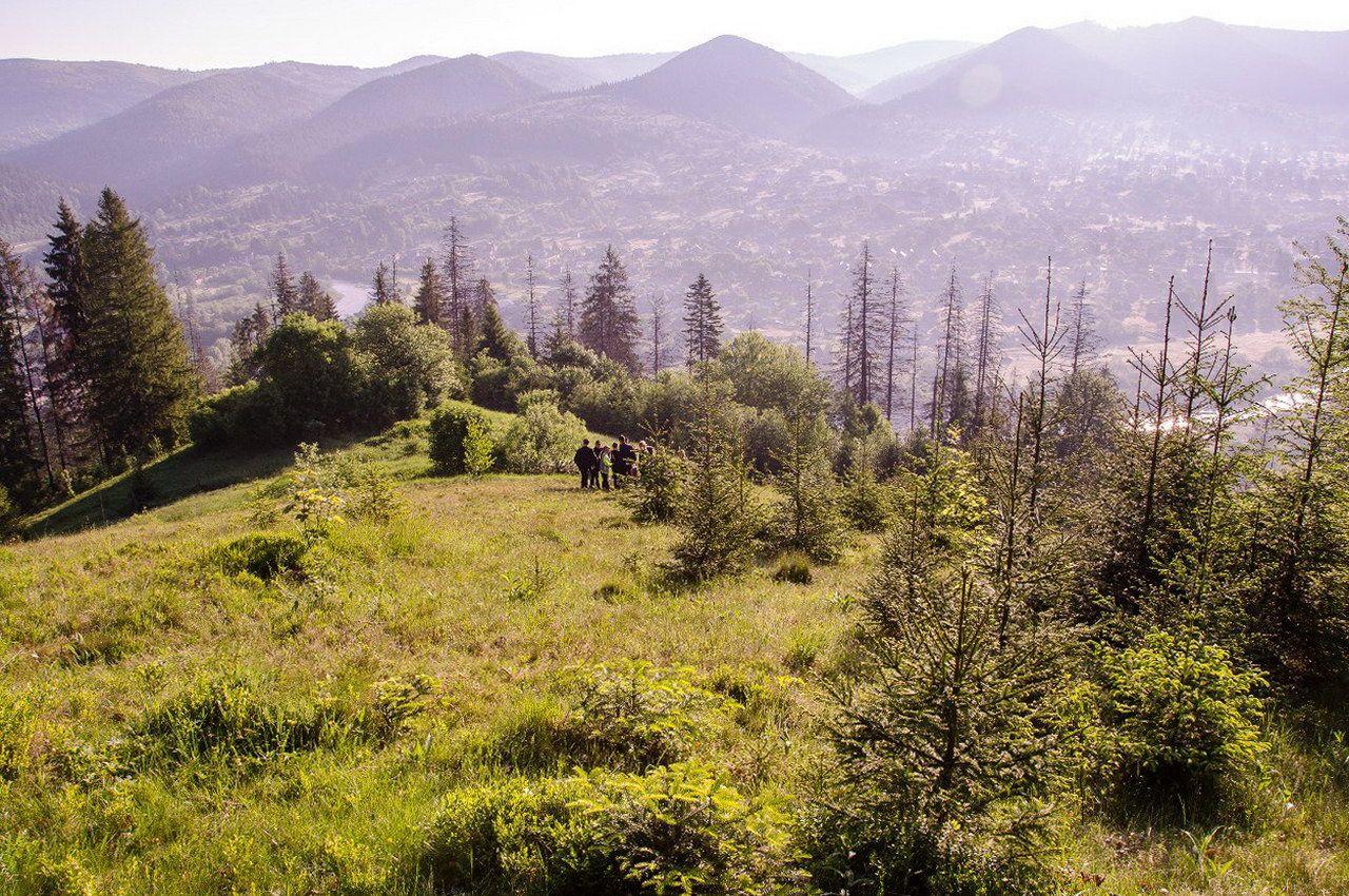 Карсиві пейзажі Микуличина