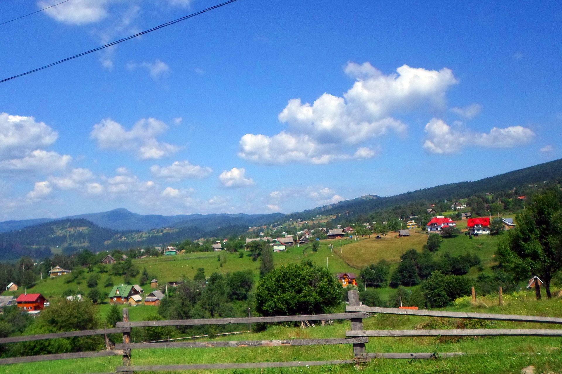 Найдовше село - Микуличин