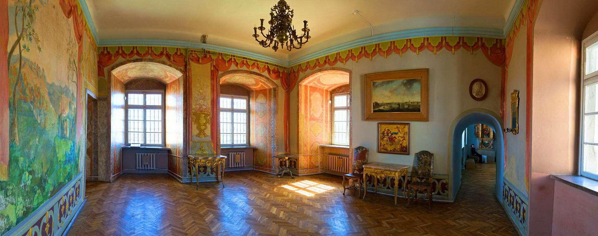Інтер'єр кімнати Олеського замку