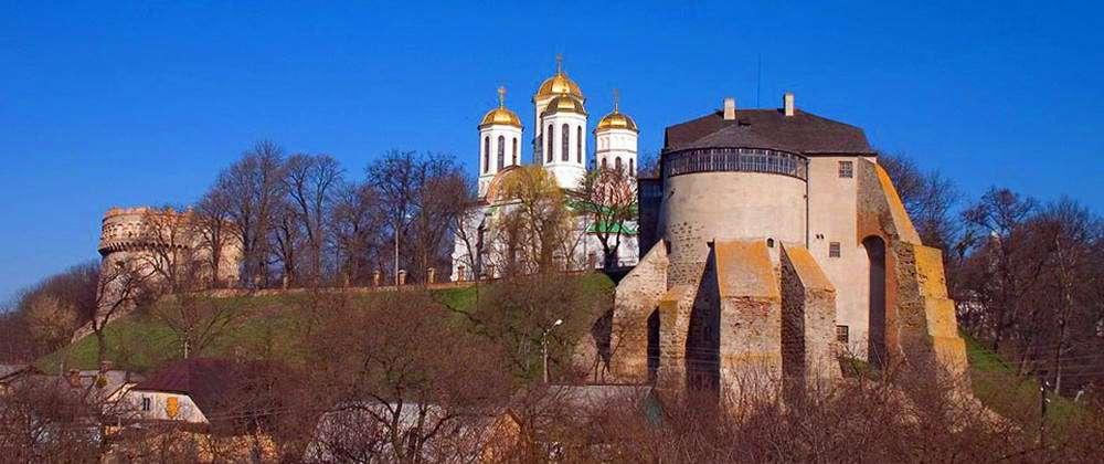 Острозький замок, панорамний вид