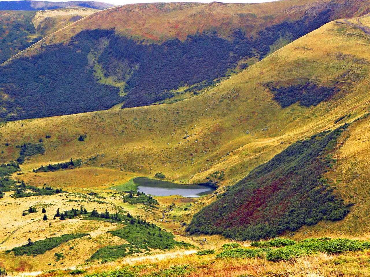 Озеро Апшинець, Закарпатська область