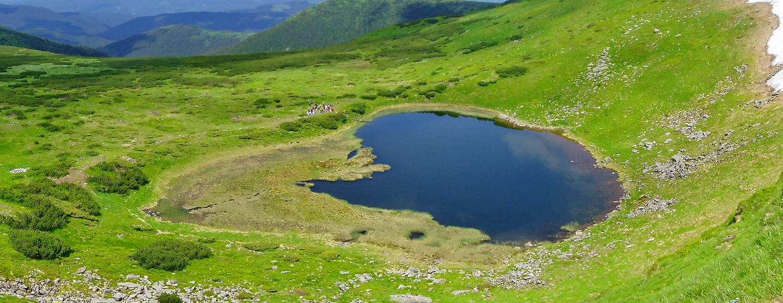 Чорногірський масив, озеро Бребенескул