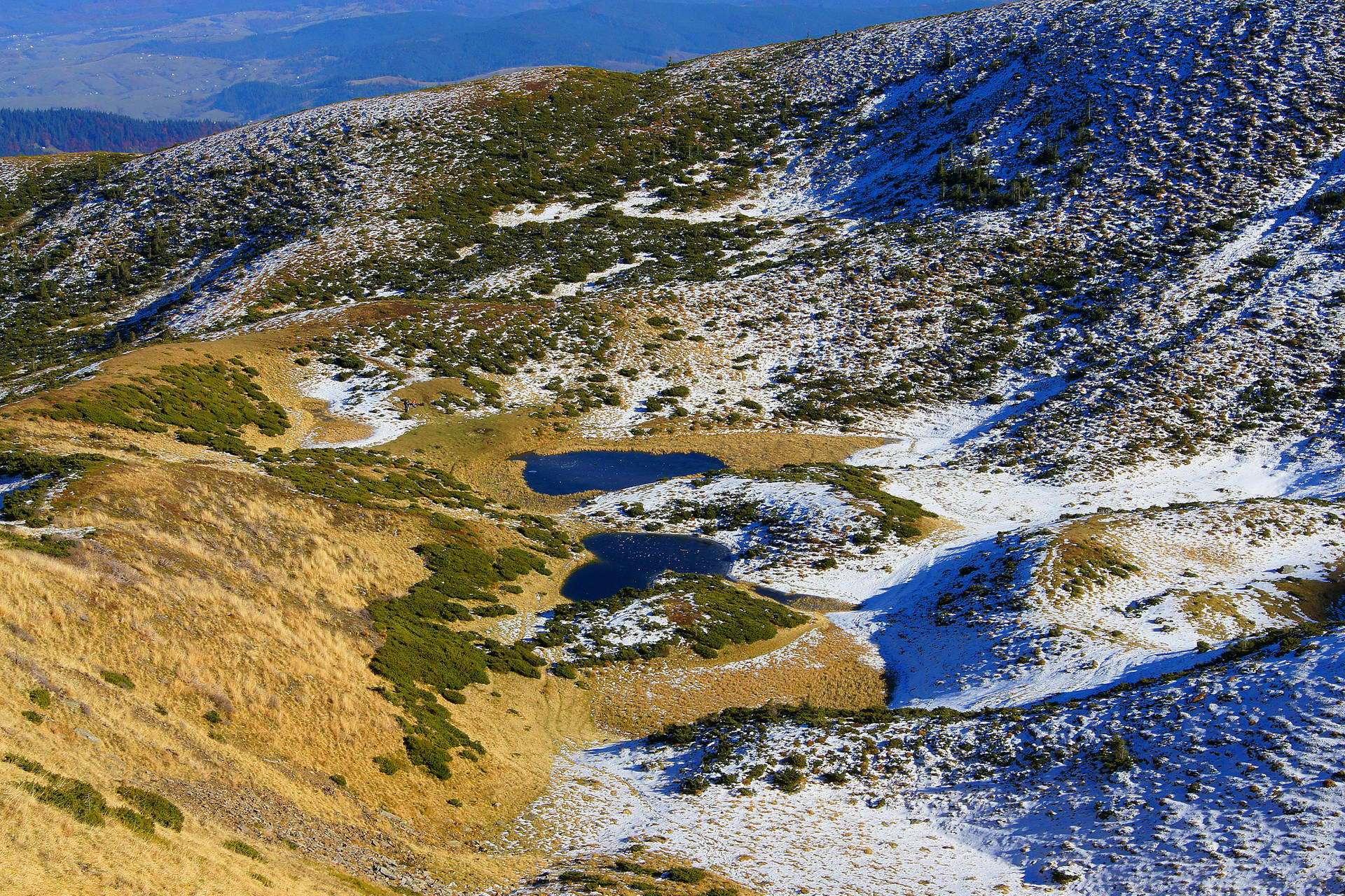 Рахівський район, озеро Івор (Драгобратське)