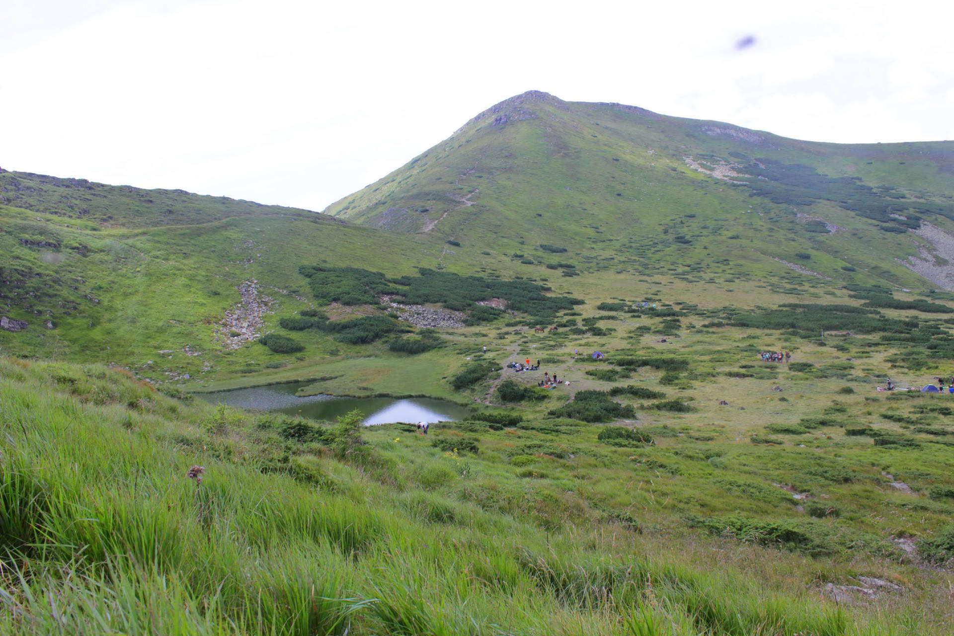 Схил г. Туркул, озеро Несамовите