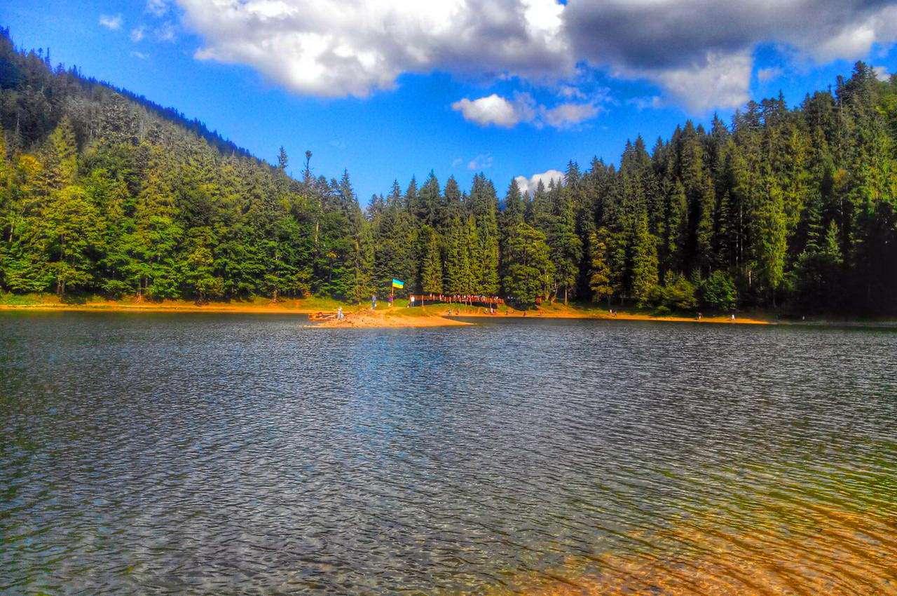 Озеро Синевир, Міжгірський район