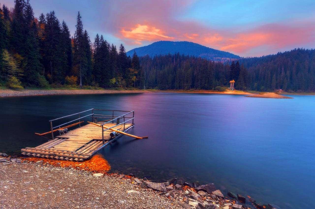 Озеро Синевир на Закарпатті : вражаюче відео