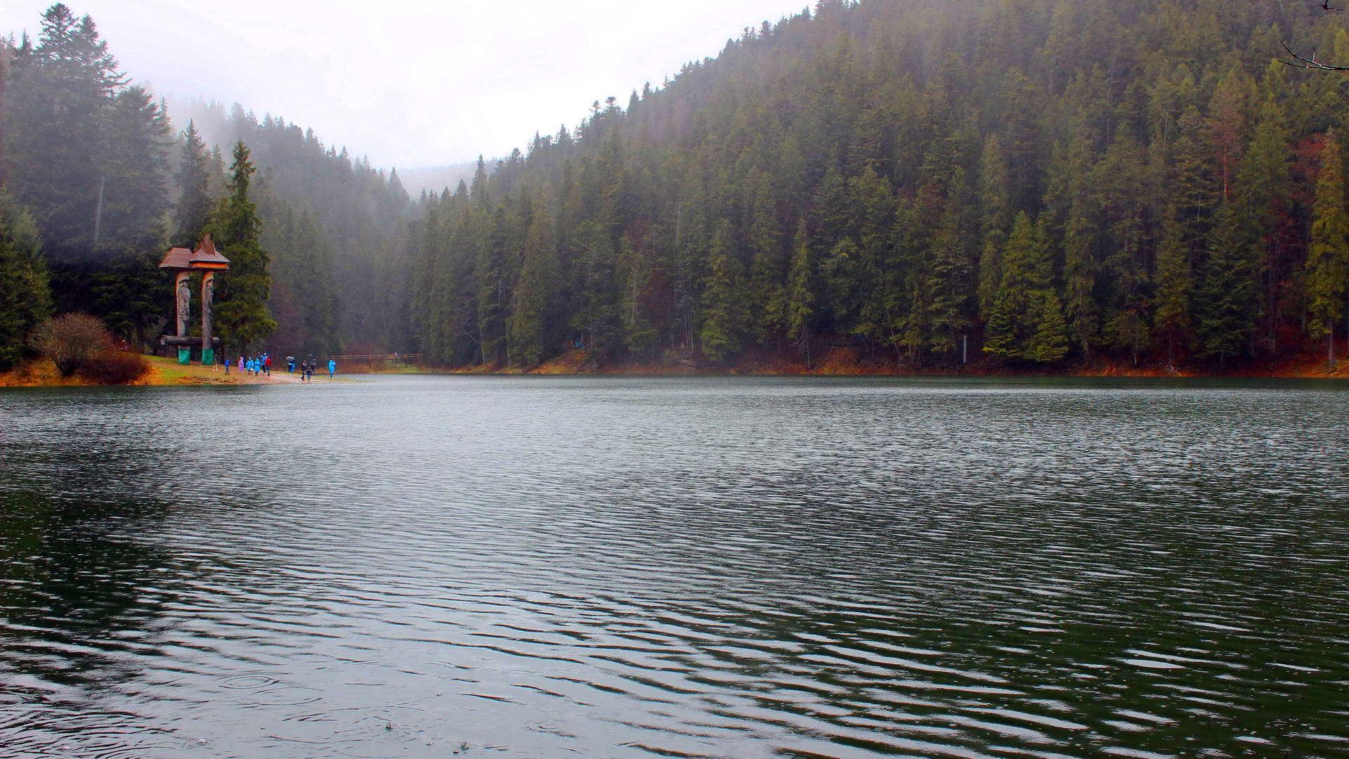Закарпаття, озеро Синевир