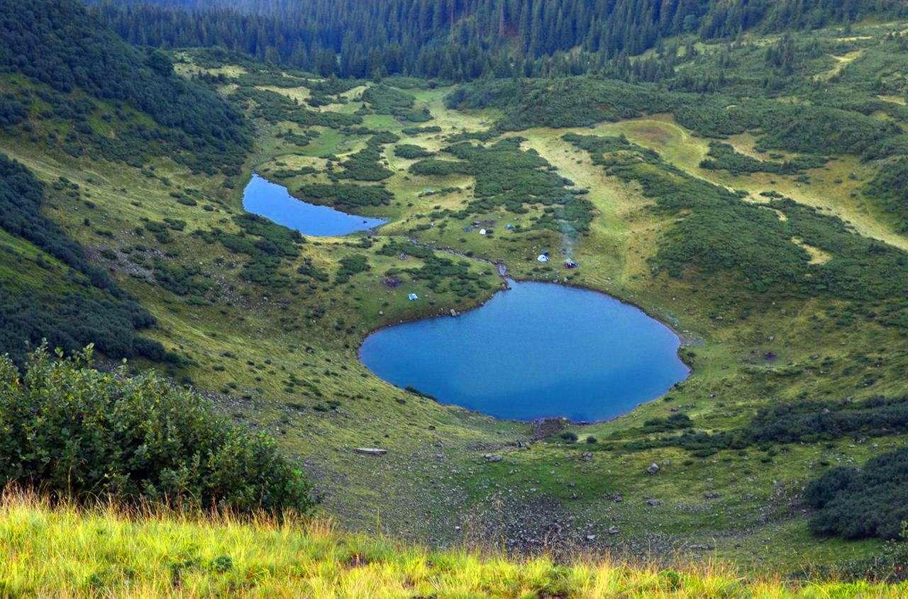Озеро Ворожеська, Рахівський район
