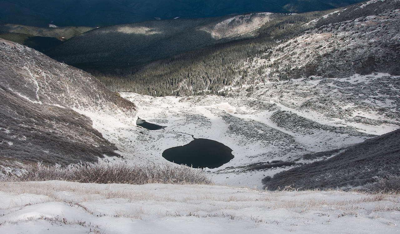 Закарпатська область, озеро Ворожеська
