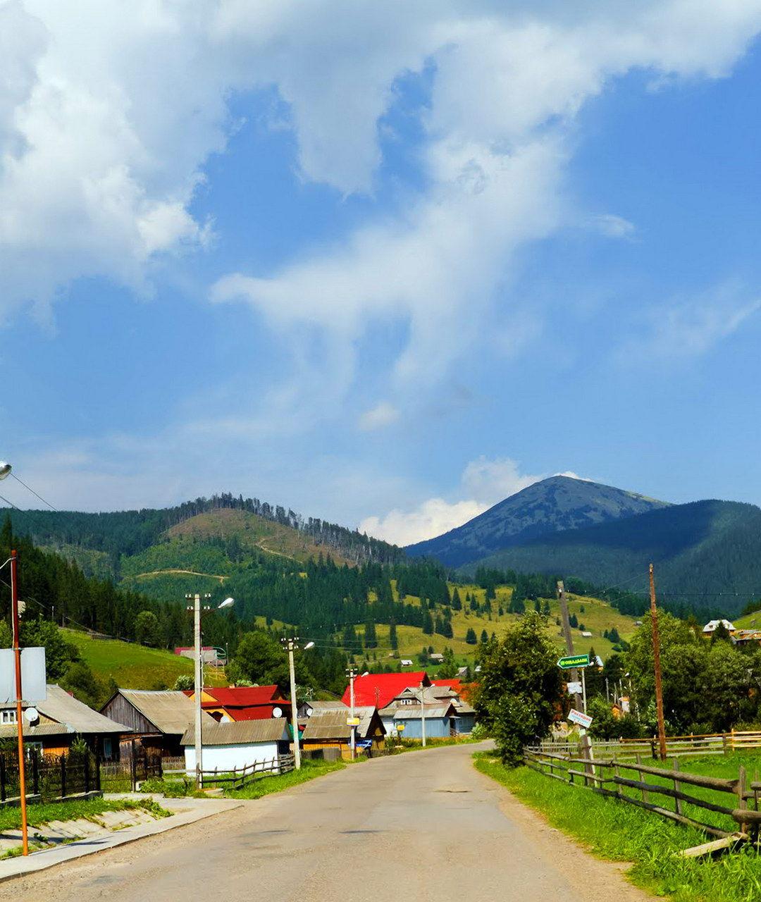 Йдучи селом Поляниця