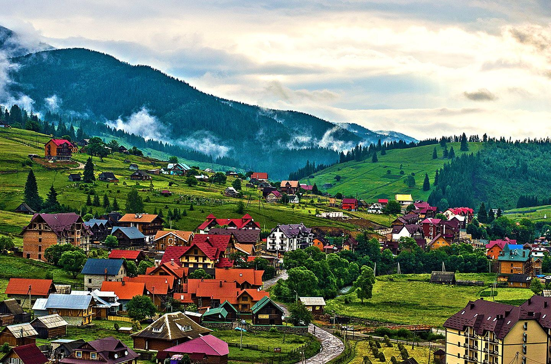 Поляница — туристический уголок Прикарпатья