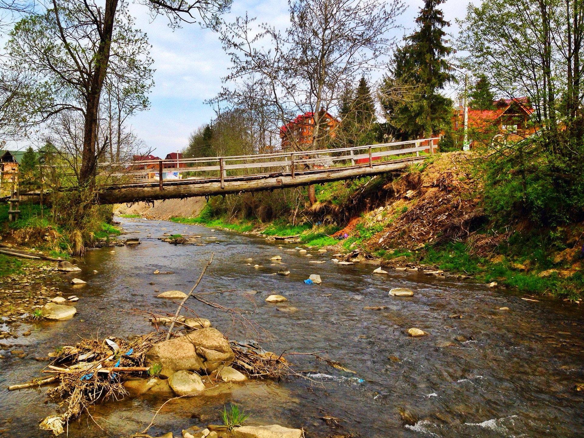 с. Поляниця, річка Прутець