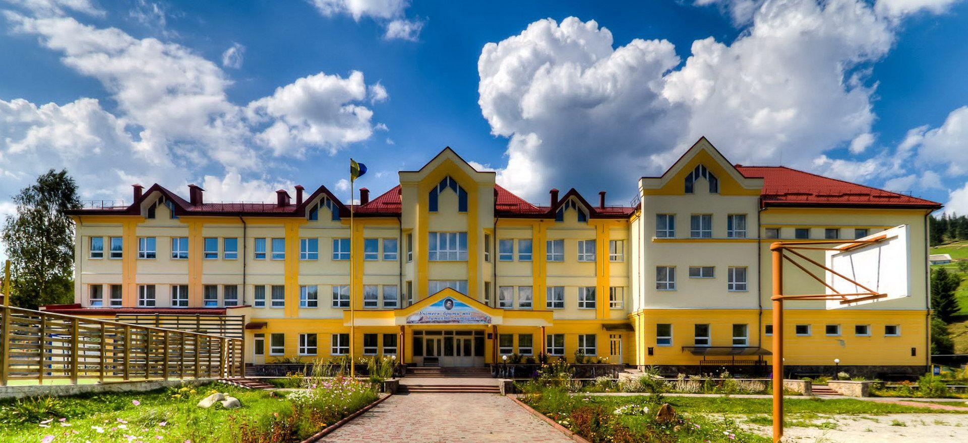 Село Поляниця, школа