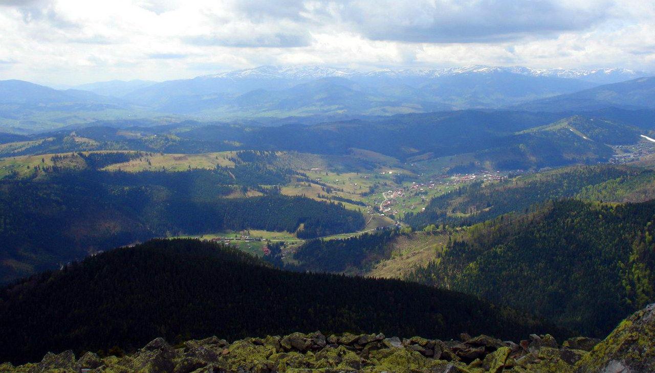 Вид на Поляницю