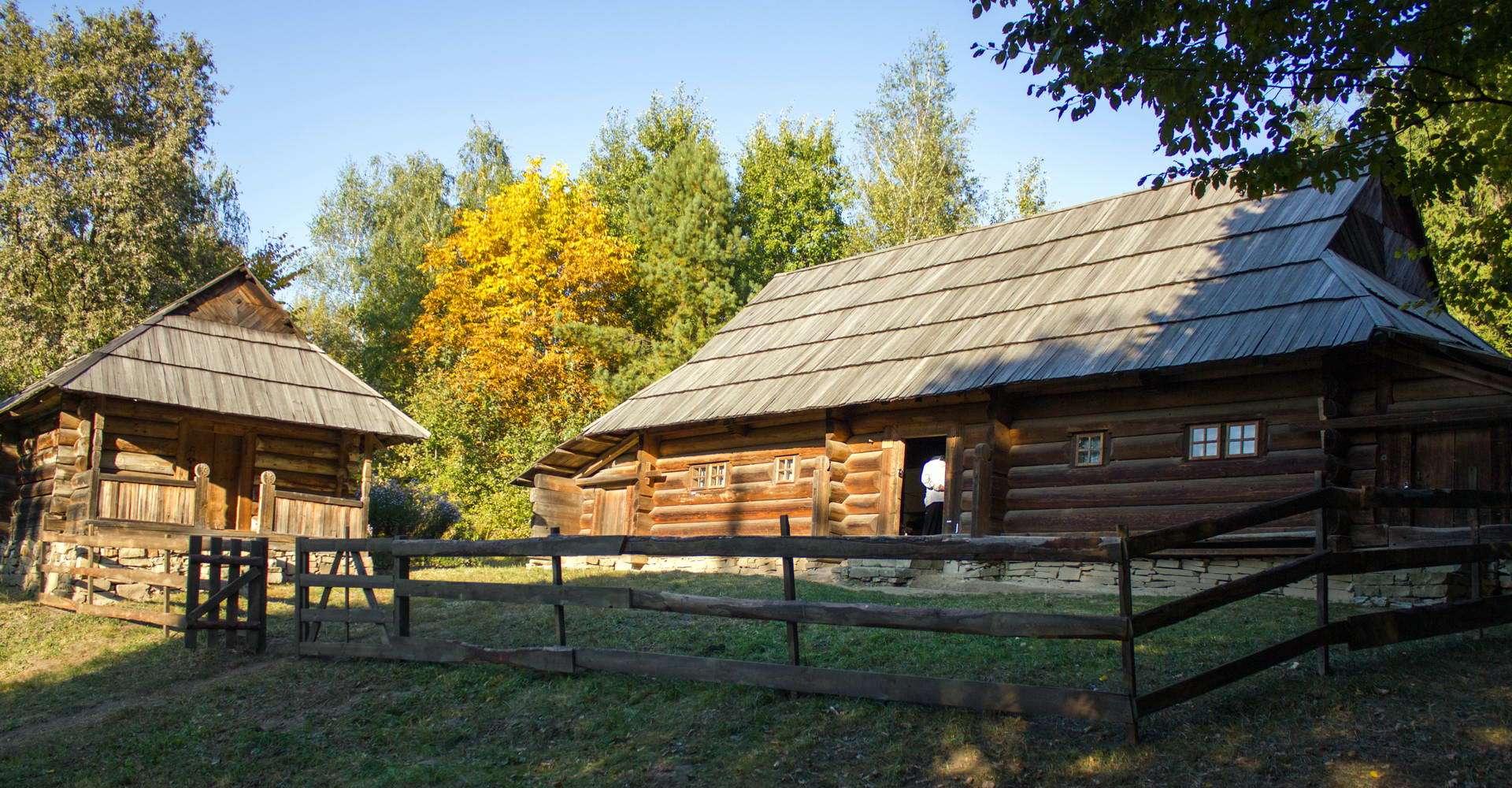 Косівський район, хатина в селі Шепіт