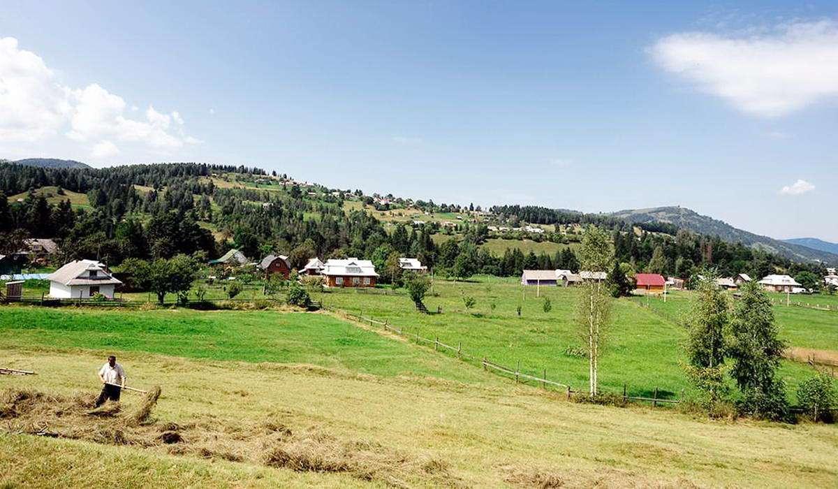 Село Шепіт на Прикарпатті